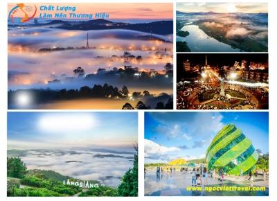 TOUR ĐÀ LẠT  3 NGÀY 2 ĐÊM - Điểm Mới Nhất Năm 2020